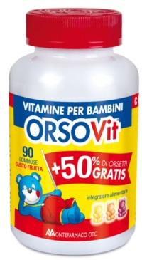 Orsovit Caram Gomm 90pz Promo