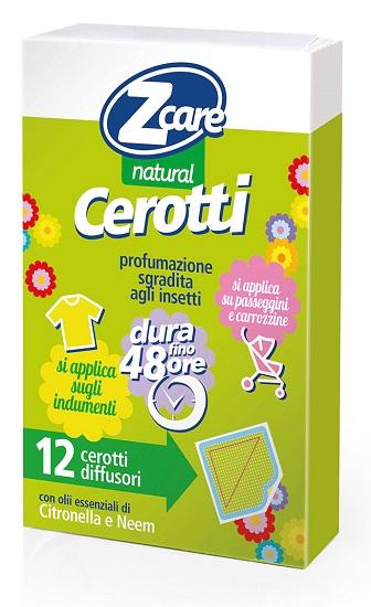 Zcare Natural Cerotti 12pz
