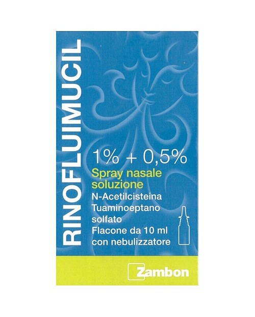 Rinofluimucil*spray Nas 10ml