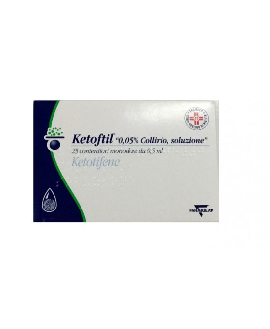 Ketoftil*coll25fl0,5ml0,5mg/ml