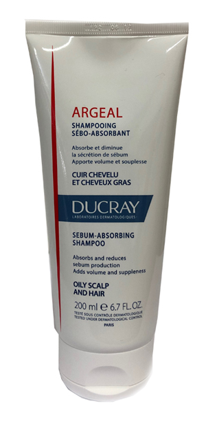 Argeal Shampoo 200ml Ducray