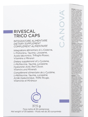 Rivescal Trico Caps 30cpr New